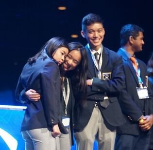 David and Edward win first place at ICDC!